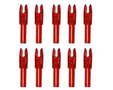 30pcs 4.2mm Arrow Interpolation Nocks Archery Arrow Shafts Archery Bow parts