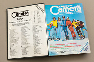 Vintage YOU AND YOUR CAMERA Magazine 15 issues 1979-80 retro photography, binder