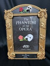 1986 San Francisco Music Box Co Phantom of the Opera Musical Picture Frame w/Box