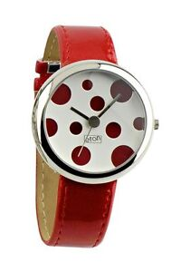 Eton Dial Watch Dotted Various Colours Japanese Movement Nickel Safe Boxed New