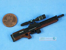 Walther WA 2000 Semi Automatic Bullpup Snipe Rifle 1:12 Figure Model DA119
