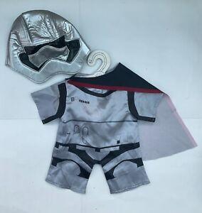 Build A Bear Workshop STAR WARS Storm Trooper Costume