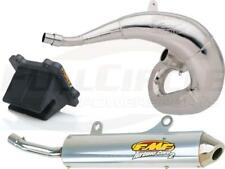 V-Force 3 Reed Valve + FMF Gnarly & Turbinecore 2 Exhaust YZ250 Pipe Silencer