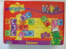 NEW The Wiggles Cardboard Dominoes 28 Piece Set by Tree Toys