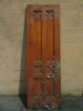 ~ Antique Oak Gothic Door ~ 33.25 X 103.25 ~ Architectural Salvage ~