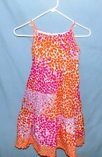 Rare Edition Tie-Back Sun Dress Girls Size 7 Fully Lined 4-Ti