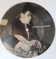 """PICTURE DISC , MASTERS OF ROCK ET ROLL VOL 1  Eddie Cochran  """"Come on Everybody"""""""