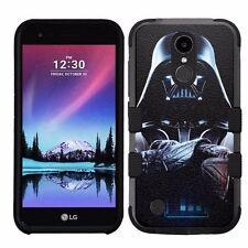 for LG K20 Plus/LG V5 Impact Armor Rugged Hybrid Case Star Wars Darth Vader