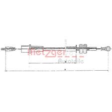 Gaszug COFLE - Metzger 11.1323