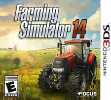 Farming Simulator 14 (Nintendo 3DS, 2014) MINT - 1st Class Delivery