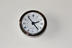 CLOCK INSERT KIT 49mm - WOODWORK PROJECT KIT  Silver bezel- PROKRAFT Ci49 S