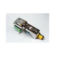 Chrome Headshell & AT-VM95E Cartridge Stanton STR8 80, STR8 90, T120, T60, T80