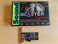 Creative Sound Blaster Audigy FX PCI-E 5.1 Soundkarte SBX