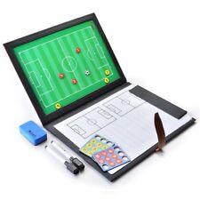 Carpeta Tactica Entrenador de Futbol Plegable para Entrenamientos con Accesorios