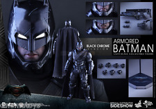 Armored Batman Black Chrome Ver, Sixth Escala Figure Hot Toys Sideshow Exclusive