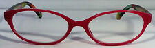 New! Foster Grant Simply Specs Crocus Pink 1.25 Reading Glasses W/Soft Case.