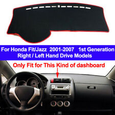 Car Dash Mat Dashboard Cover Carpet For Honda Fit Jazz 2001- 2004 2005 2006 2007