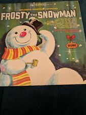 Vintage Diplomat Christmas Records Frosty The Snowman