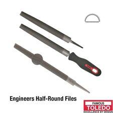TOLEDO Half Round File Second Cut - 150mm 12 Pk 06HR02BU x12