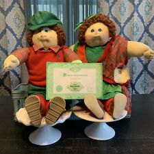Cabbage Patch Kids Dolls 1985 Original Irish Limited Edition Set Of 2 Dolls