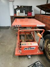 Presto Electric Scissor Lift Table