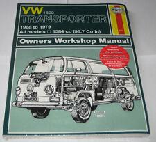 Reparaturanleitung VW Bus + Transporter T2 T2a T2b 1,6 liter, Bauj. 1968 - 1979