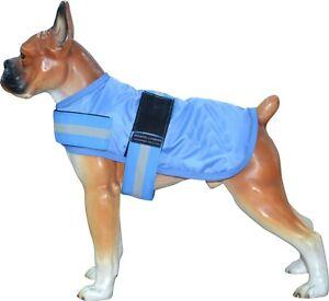 Waterproof Big Pet Dog Jacket Outdoor Rain Coat Raincoat Fleece Safe *CLEARENCE*