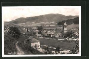 AK Elzach im Schwarzwald, Ortsansicht