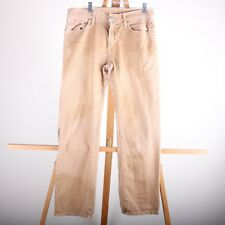 American Eagle Outfitters Slim Straight Distressed Brown Jeans Men's 30/30