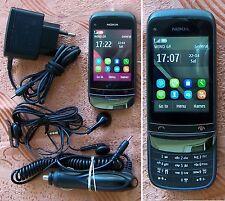 Nokia C2-02 Black chrome Smartphone TOP CONDITION!!!! (c c3 c5)