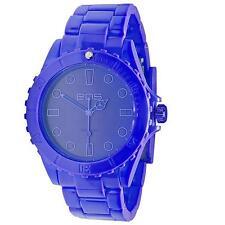 EOS New York Unisex Marksmen Plastic Blue Quartz Analog Watch #359SBLU NIB