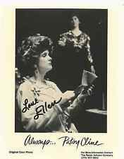 """ALWAYS...PATSY CLINE PLAY 8X10 B&W PHOTO SIGNED BY ACTRESS """"ELLEN"""" CIRCA 1998"""