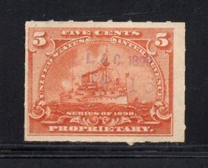 Scott # RB31, Used, F, 5¢ Battleship, Ladd & Coffin, New York, NY, Perfumes