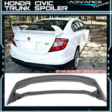 12-15 Honda Civic Mugen Style Trunk Spoiler Painted Modern Steel Metallic - ABS