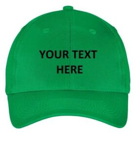 Landscaping Embroidered Custom Embroidery Personalized Hat Cap Baseball