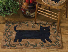 """Folk Cat Hand-Hooked Rug by Park Designs - 24"""" x 36"""""""