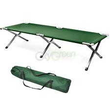 Folding Portable Camping Bed Outdoor Military Sleeping Hiking Guest Travel Cot