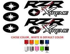(#156) 5 X Polaris RZR 800 900 1000 XP ranger  extreme team sticker decal emblem