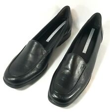 Easy Spirit Womens 9 Black Anti Gravity Flex point Slip On Loafer New