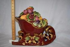 Fitz & Floyd Classic Renaissance Sleigh Tureen - Holiday Fruit