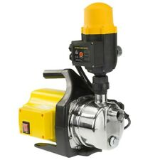 1200w Weatherised stainless auto water pump - Yellow