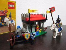 Vintage (1986) LEGO Castle Lion Knights set 6041 Armor Shop - RARE