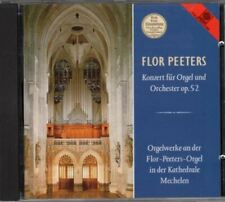 Concerto For Organ And Orchestra : Flor Peeter