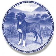 Fila Brasileiro - Dog Plate made in Denmark from the finest European Porcelain