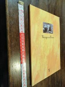 catalogo VOYAGES EN FRANCE Louis Vuitton 1996 moda borse valigie cinte agende