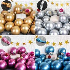 10Pc 5/10/12in Metallic Chrome Balloons Wedding Birthday Party Decor Supplies