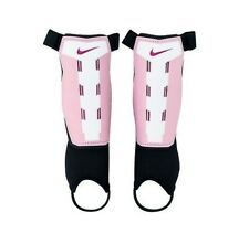 Nike Youth T90 Charge Soccer Shin Guards,Pink/ White Size:Y-Medium (E60-Ng)