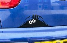 Monster Small to Large Peeping Peek a Boo Funny Car Van Wall Stickers Decals d1