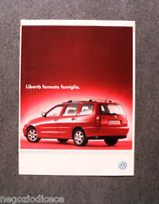 N745 - Advertising Pubblicità - 1998 - VOLKSWAGEN POLO VARIANT