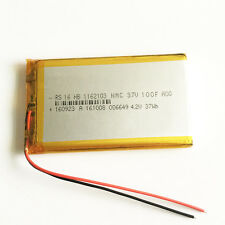 10000mAh 3.7V rechargeable Battery LiPo polymer For Power Bank Tablet PC 1162103